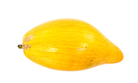 Egg fruit isolated on white with clipping path Stock Photo
