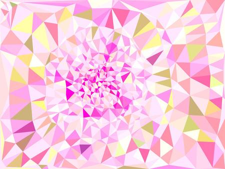 vivid color: Vivid color polygonal background, Vector illustration triangular style