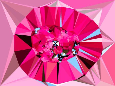canlı renkli: Abstract vivid color polygonal background,diamon shape, Vector illustration triangular style