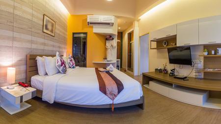 resort: Modern styles of bedroom of resort in Thailand