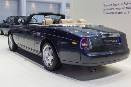 provenance: NONTABURI, THAILAND - 23 MAR : Rolls-Royce Provenance showed in Thailand the 37th Bangkok International Motor Show on 23 March 2016 Editorial