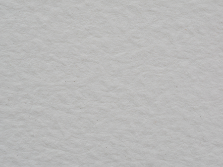 Closeup texture of white watercolor paper for use as background