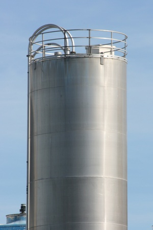 Storage tank of a chemical production plant