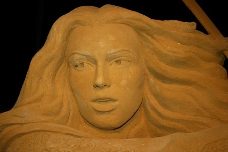 Blankenberge Belgium 21th july 2011:Sand Sculpture Festival