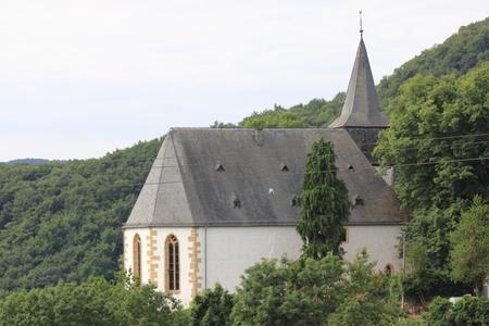 collegiate: The Collegiate Church of St Johannisberg in Hochstetten-Dhaun, Germany