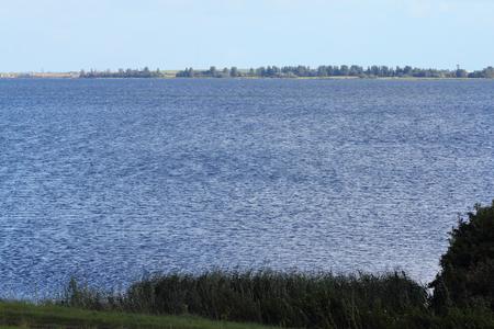 The North Sea in Herkingen, the Netherlands