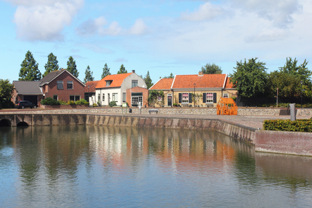 Middelharnis, Netherlands August 10, 2016 - is a town in the western Netherlands, in the province of South Holland, on the island of Goeree-Overflakkee Editorial