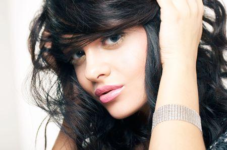 portrait of beautiful brunette Stock Photo - 2005174