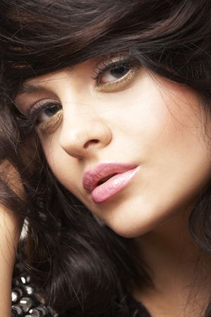 portrait of beautiful brunette Stock Photo - 2005161