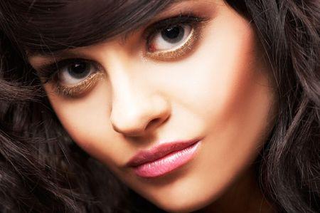portrait of beautiful brunette Stock Photo - 2005166