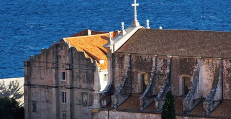 View of the downtown section of Dubrovnik, Croatia photo
