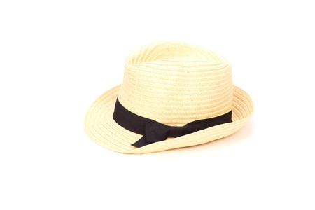 accesory: summer hat isolated on white background