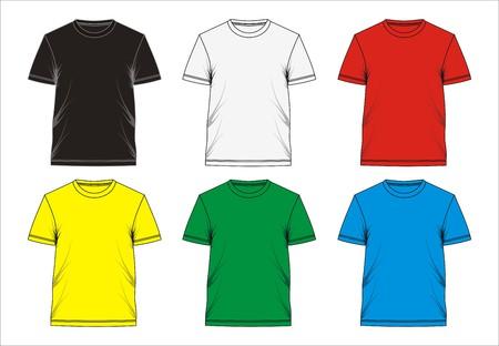 T Shirt Design blank, Vector.