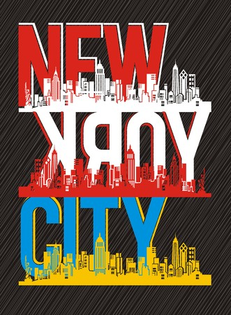 タイポグラフィ ニューヨーク市