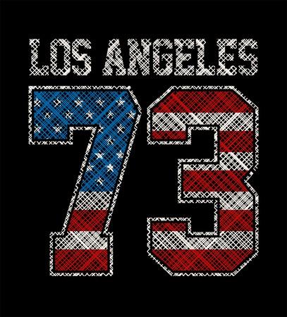 アスレチック ロサンゼルス、t シャツ グラフィック