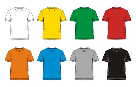 t-shirt ontwerp Stock Illustratie