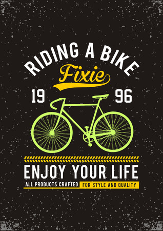 Bicycle T-shirt Graphic
