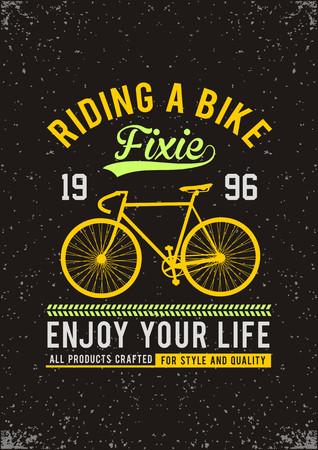 Bicicletta sportiva che guida una bici Archivio Fotografico - 84201675