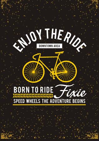 Enjoy The Ride T-shirt Graphic