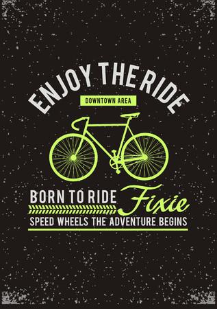 Enjoy the ride banner.