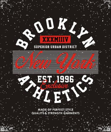 Brooklyn-Leichtathletik-Uni-Banner. Standard-Bild - 84201660