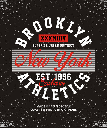 Brooklyn athletics varsity banner.