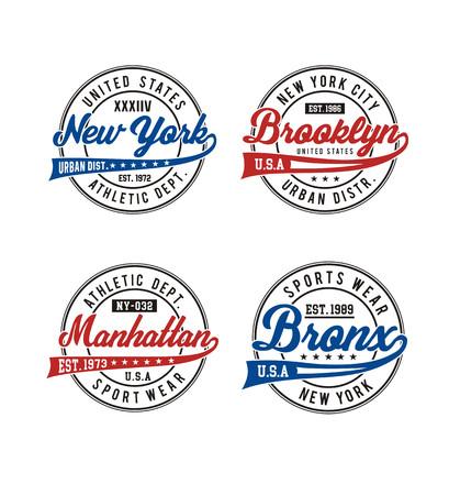 Athletic US sports design. Illusztráció