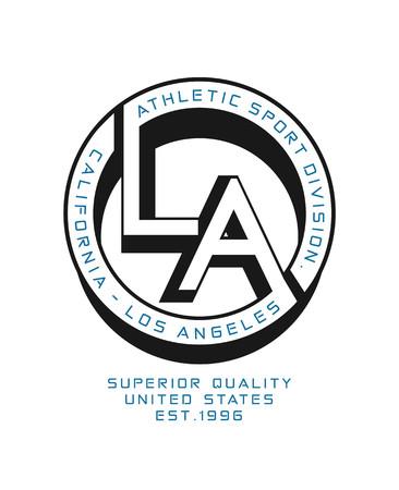 Los Angeles Sport , Vector.