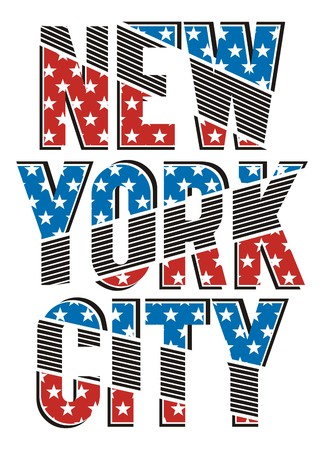 New York City Texture Flags