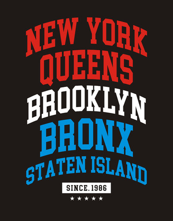 NYC Typography Design