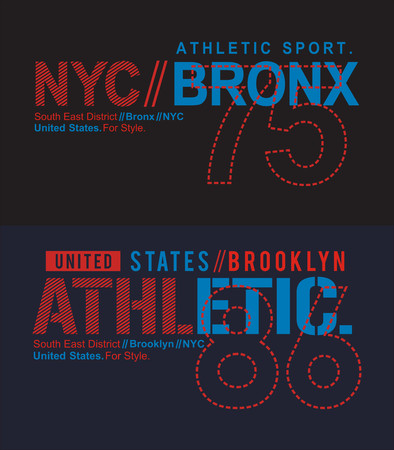Athletic Brong sport t-shirt graphic