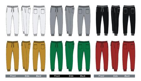 Set Hosenhose Vektorgrafik
