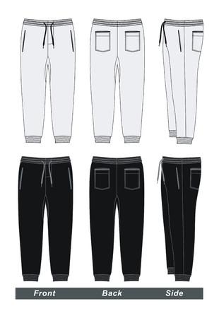 Set Hosen Hosen Vektorgrafik