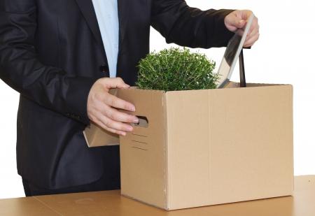 Losing your job Stock Photo
