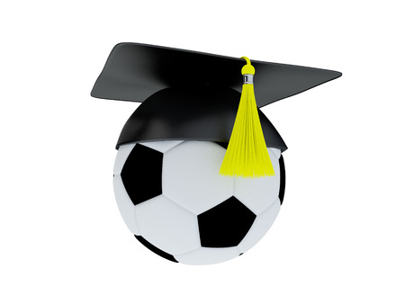 better icon: Football Academy Concept. Stock Photo