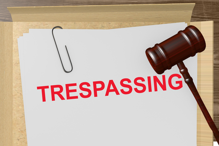 land locked: Trespassing Title On Legal Documents