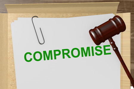 legal documents: Compromise Title On Legal Documents