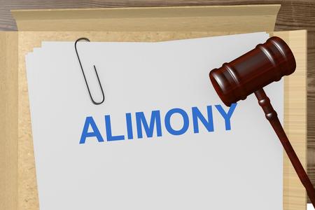 Alimony Titolo On Documenti legali
