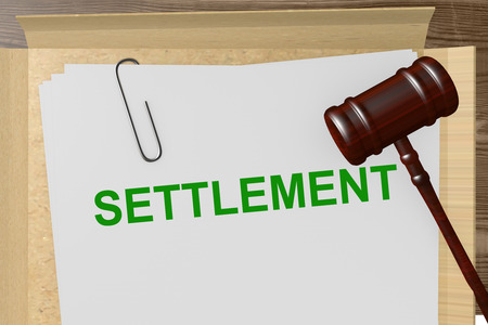 Settlement Title On Legal Documents