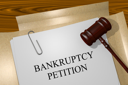 legal documents: BANKRUPTCY PETITION Title On Legal Documents
