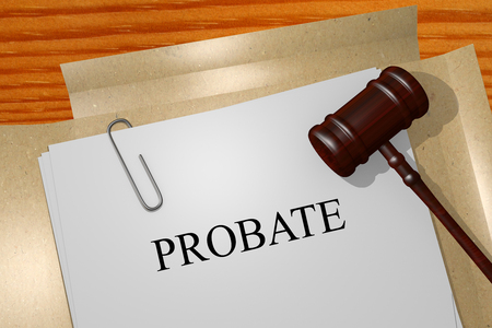 legal documents: Probate Title On Legal Documents