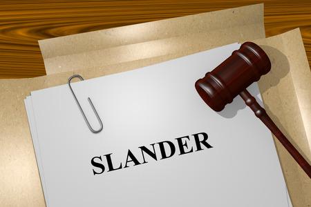 slander: Slander Title On Legal Documents