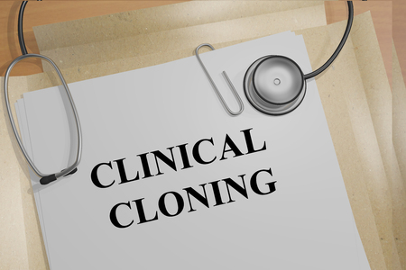 cloning: Render illustration of Clinical Cloning title on Medical Documents