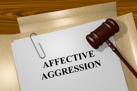 doldrums: Render illustration of Affective Aggression Title On Legal Documents