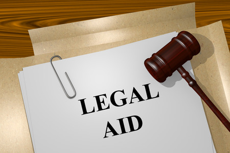 legislator: Render illustration of Legal Aid title on Legal Documents