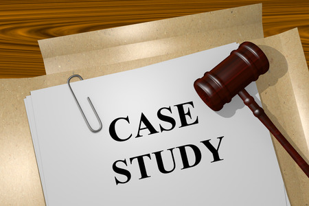 representations: Render illustration of Case Study title on Legal Documents