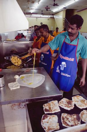 Making Roti Canai Mamak
