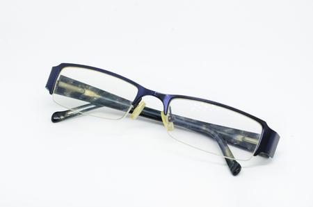 eyeglass isolated on a white background