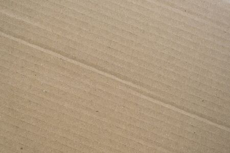 Brown corrugated cardboard box background. Concept of packaging and shipping 免版税图像 - 139348483