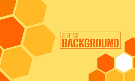 Simple background honeycomb design template for commercial use